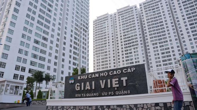 Khu căn hộ Chánh Hưng - Giai Việt