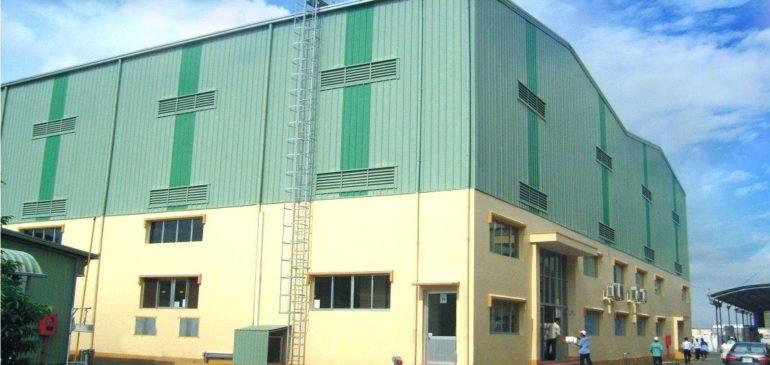 Xây dựng nhà xưởng sản xuất màng nhựa